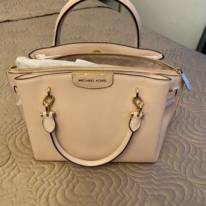 Michael Kors -Rochelle large leather satchel NWT